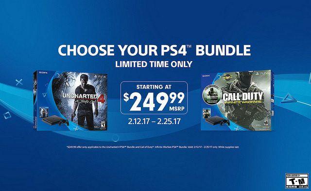 Los packs de PlayStation 4 Slim bajan de precio por tiempo limitado