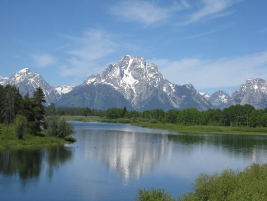 42 Mile Scenic Loop Drive Grand Teton National Park Day