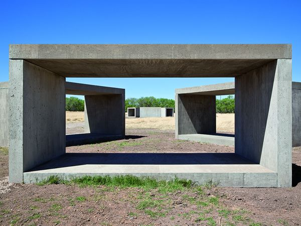 From the collection of the Chianti Foundation in Marfa, TX