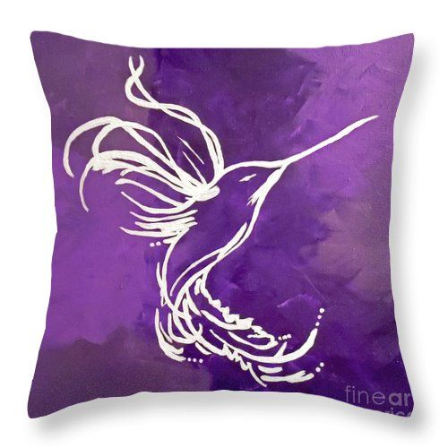 Amethyst Throw Pillow for Sale by