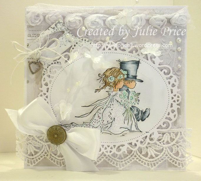 lotv wedding card cards lily of the valley stamps