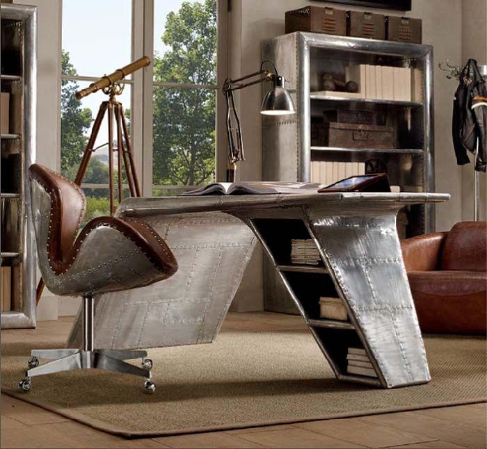 Metal Home Office Desk Furniture Design