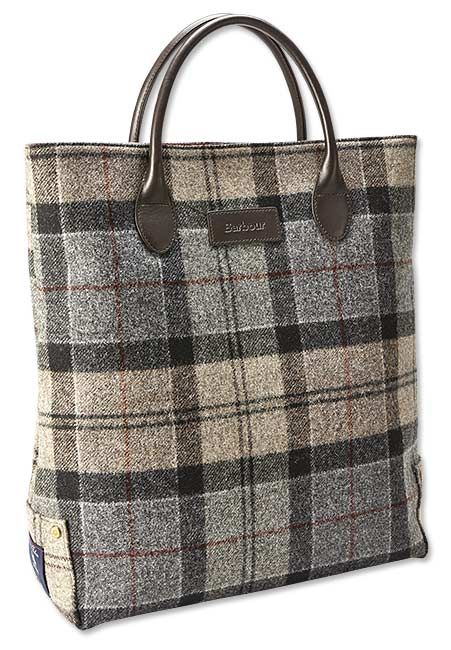 Tote Bag - Autumn Green Tartan by VIDA VIDA 49U9HPp5h