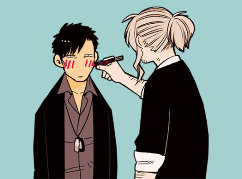 Worick x Nico Anime-Manga: GANGSTA.