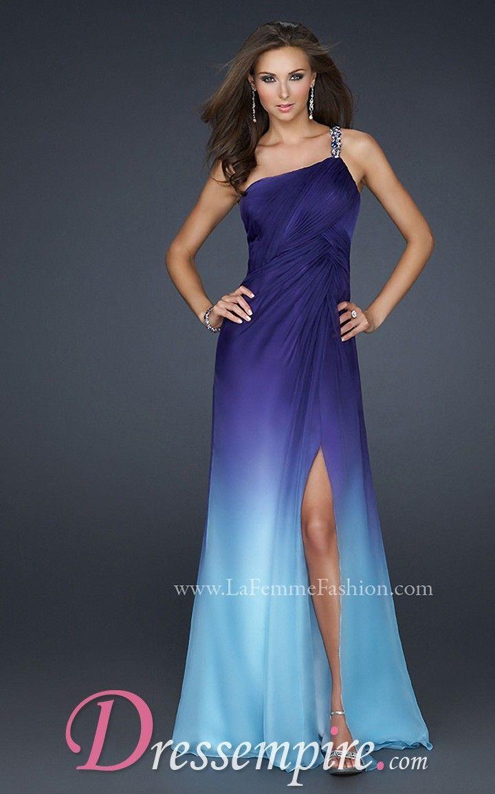 La femme dress dressempire we love this blue
