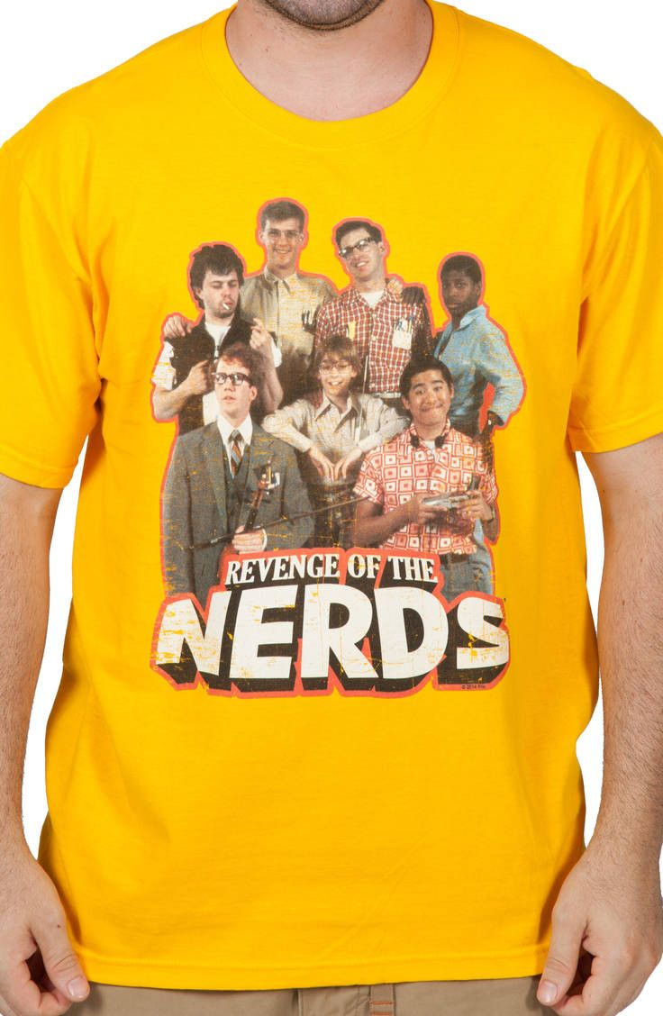 2c3d12785717 Cast Revenge Of The Nerds Shirt   New Mens T-Shirts From 80sTees.com ...