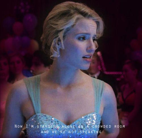 """Quinn Fabray"" in Glee."