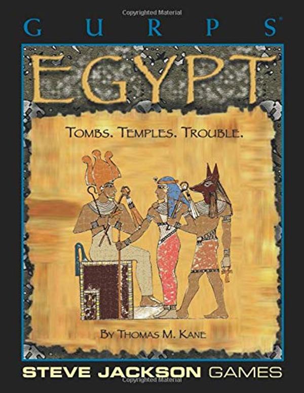 GURPS Egypt PDF Thomas M. Kane Steve Jackson Games