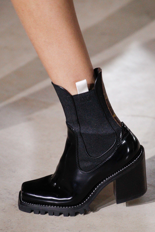 Model Winter Style Women Fashion Show P U Fashion Boots Black Null