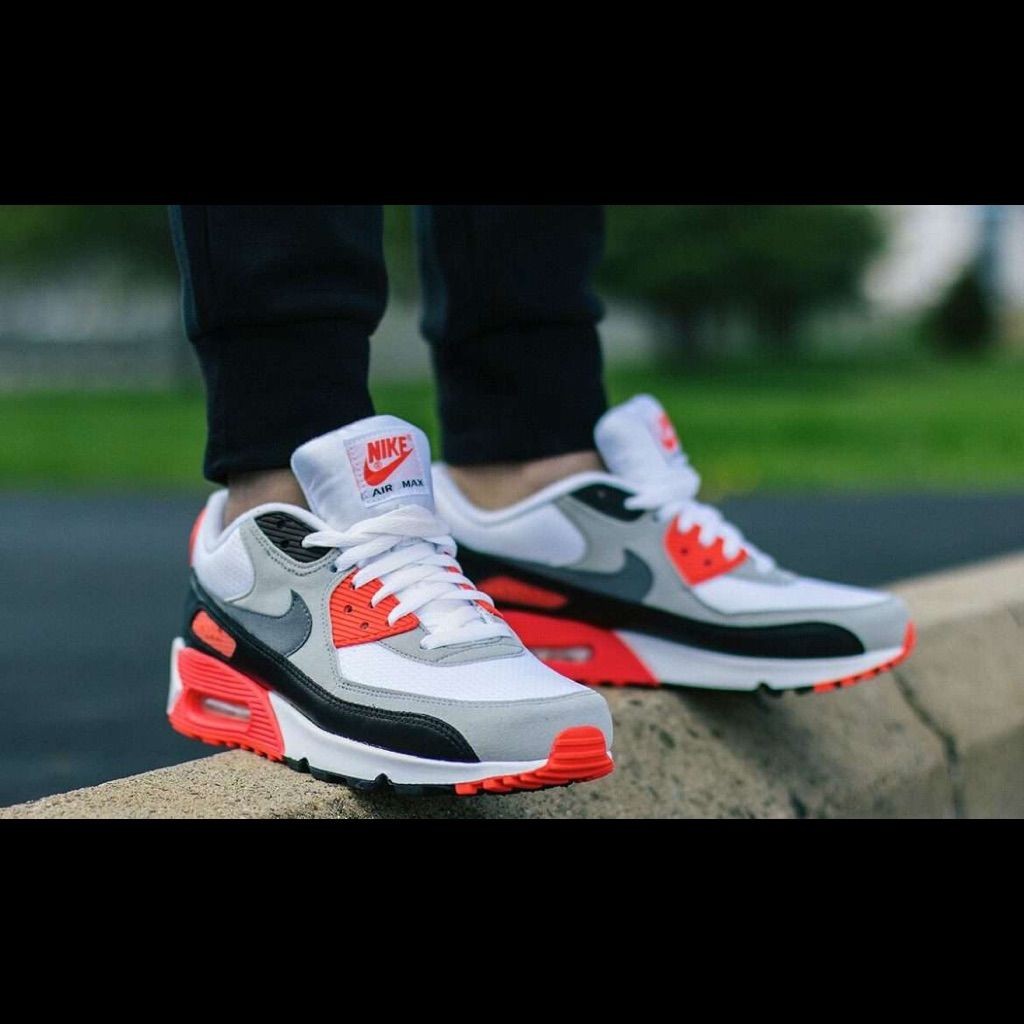 Nike Air Max 90 iD Men's Shoe Size 9 (Red)   Shop Your Way