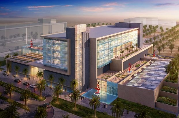 The Oncology Centre of Excellence   Jeddah   Saudi Arabia   Healthcare 2014   WAN Awards   Center of excellence. Architecture. Architecture awards