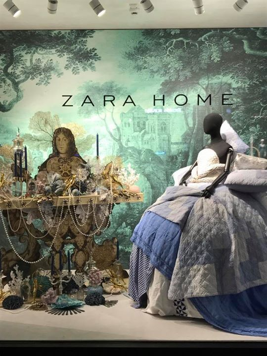 La grande illusione zara home salone di mobile 2017 zara for Mobili zara home