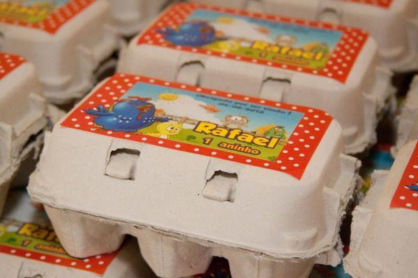 Cajas de huevo de la gallina pintadita cumple fau - Caja de huevo ...