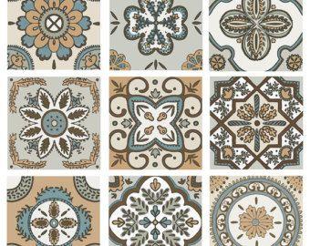 Decorative Tile Accent Pieces Scroll Backsplash Tile Set Ceramic Accent Border Decorative  Home