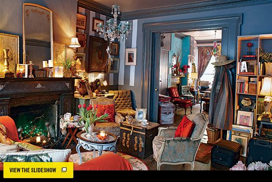 New York Design Hunting   Angela McCluskey And Paul Cantelonu0027s Greenwich Village  Home    New