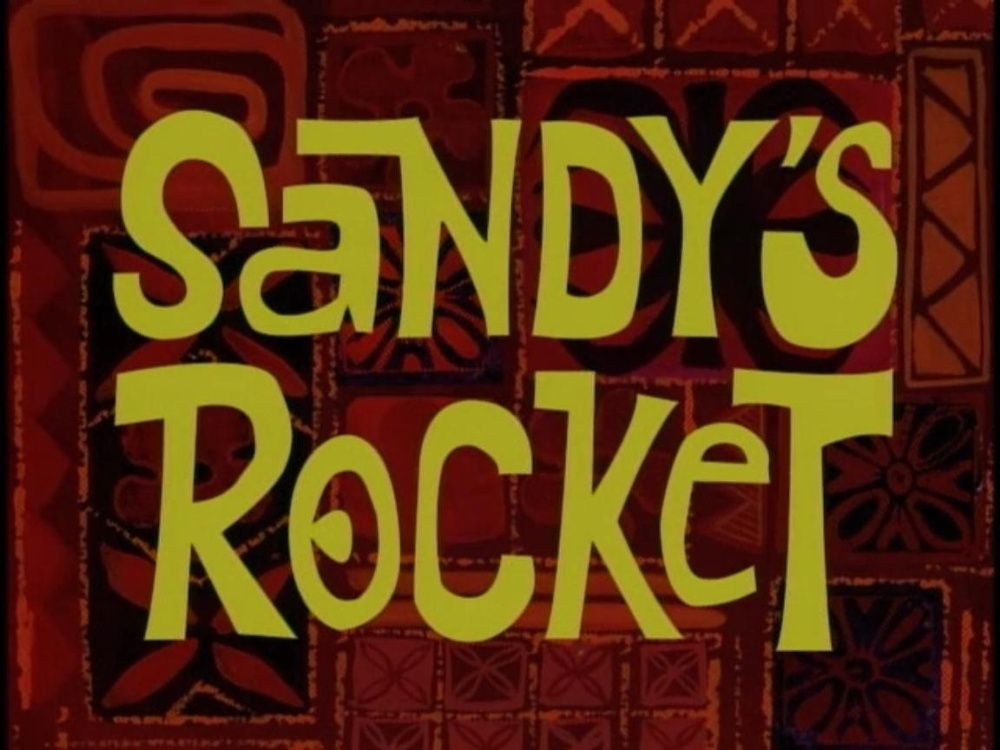 This is a replica font of what's found on the time cards in the spongebob squarepants series. Season 1 Title Card Spongebob Time Cards Season 1