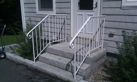 Exterior & Interior Wrought Iron Railings, Handrails, Gates, Fencing ...