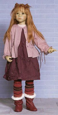 "2004 Greta Himstedt Doll, Large 3' 1"" Playstreet Children Collection-Rarely Seen 