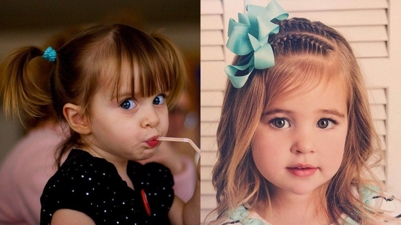 30+ Super Cute Hairstyles For Little Girl 2019 ...