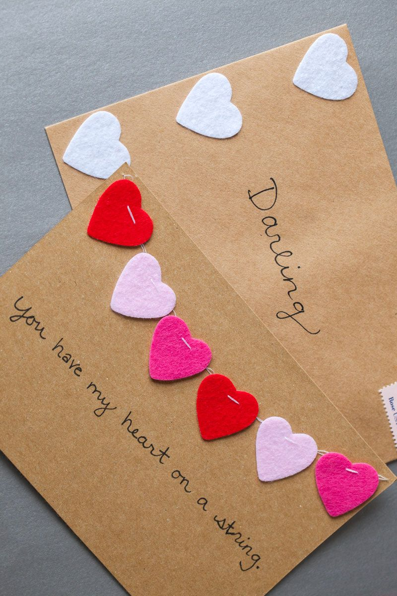 17 Cute And Quirky Diy Valentine S Day Cards Valentine S Day