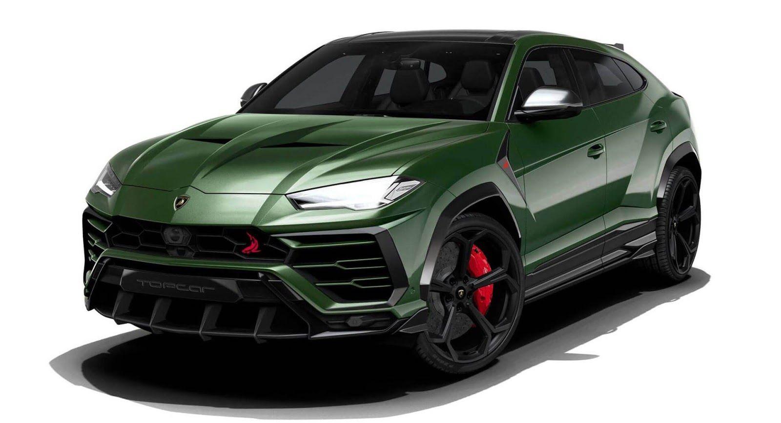 Topcar Planning Aggressive Body Kit For The Lamborghini Urus Lamborghini Car Top Cars