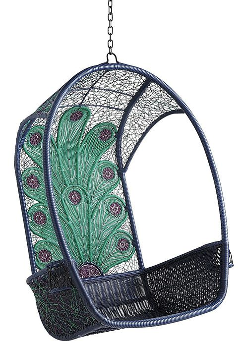 Peacock Swingasan Hanging Chair By Pier 1 Imports