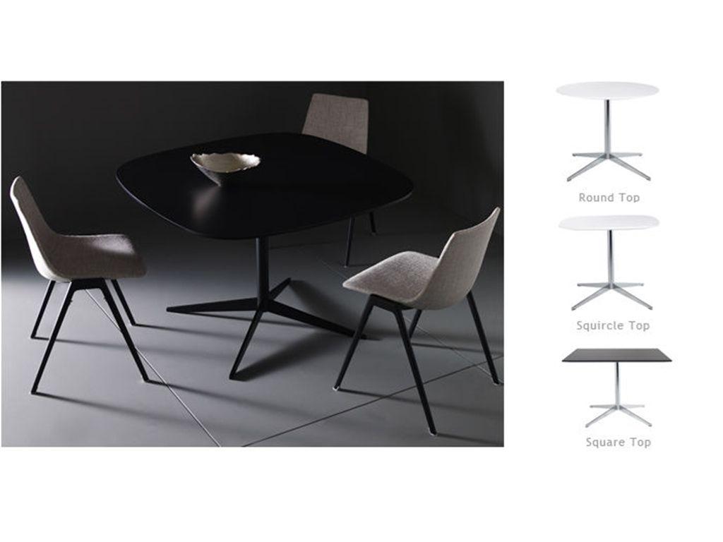 davis mez black table - round table   round tables   pinterest