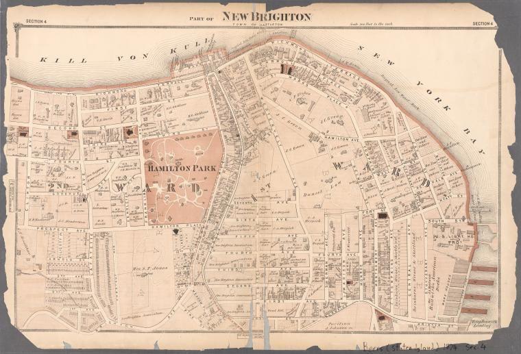 Atlas of Staten Island, Richmond County, New Yo... New