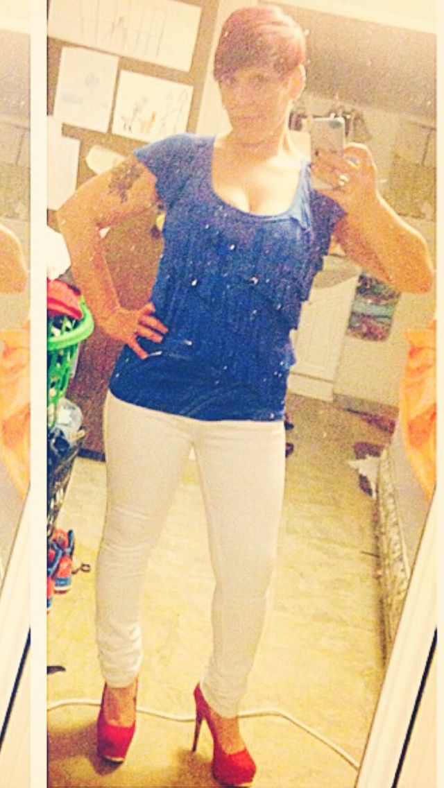 Red white and blue! :)