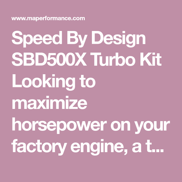 Speed By Design Sbd500x Turbo Kit 2013 2020 Subaru Brz Scion Fr S Turbo Subaru Brz Subaru
