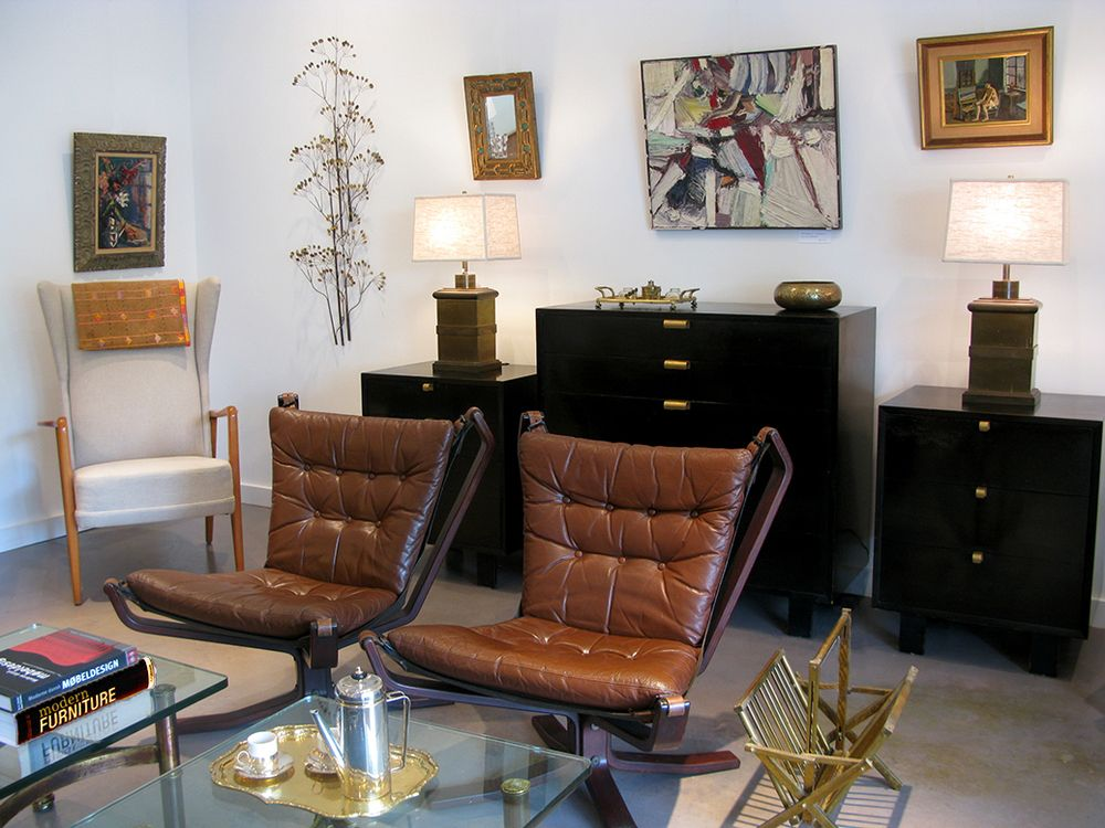 Atlanta Westside Modern Mid Century Furniture Midcentury Barcelona Chair
