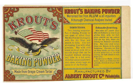 Krout baking powder | MINIATURE - FOOD - BAKING INGREDIENTS