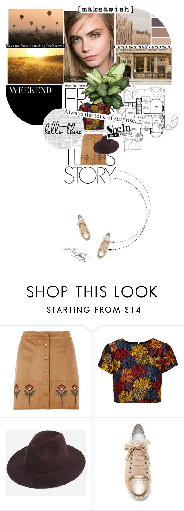 """""""Autumn breeze #1"""" by cattrina-k ❤ liked on Polyvore featuring Dorothy Perkins, Alice + Olivia, Lanvin, Möve and Melissa"""