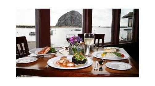 Rose S Landing Restaurant Restaurant Morro Bay Table Settings
