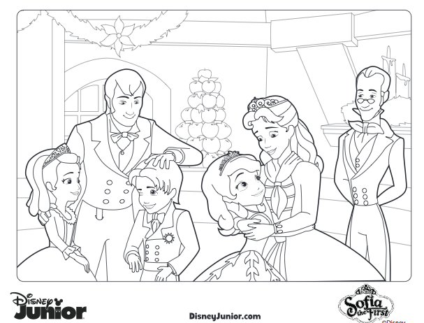 Sofia The First Coloring Pages Clover Disney Princess Coloring Pages Cute Coloring Pages Princess Coloring Pages