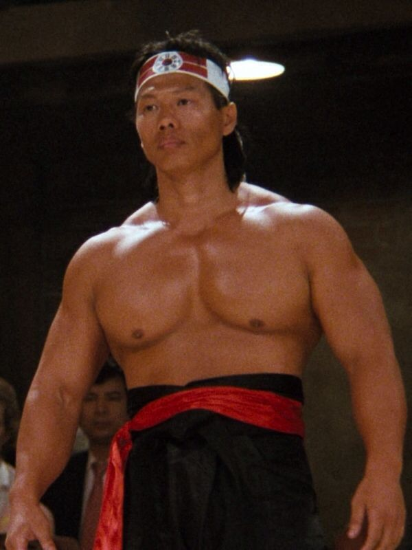 That's the physique I'm going for: Bolo Yeung In