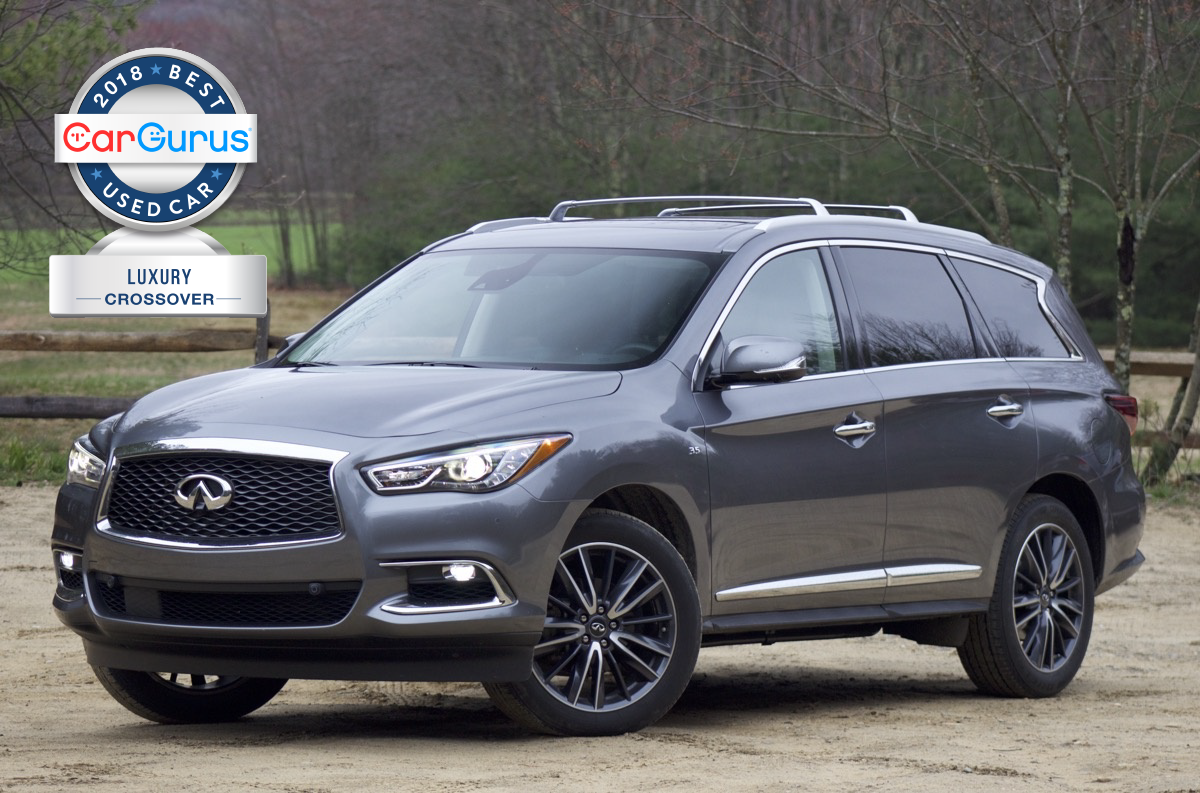 CarGurus 2018 Used Car Awards for best Luxury Crossover