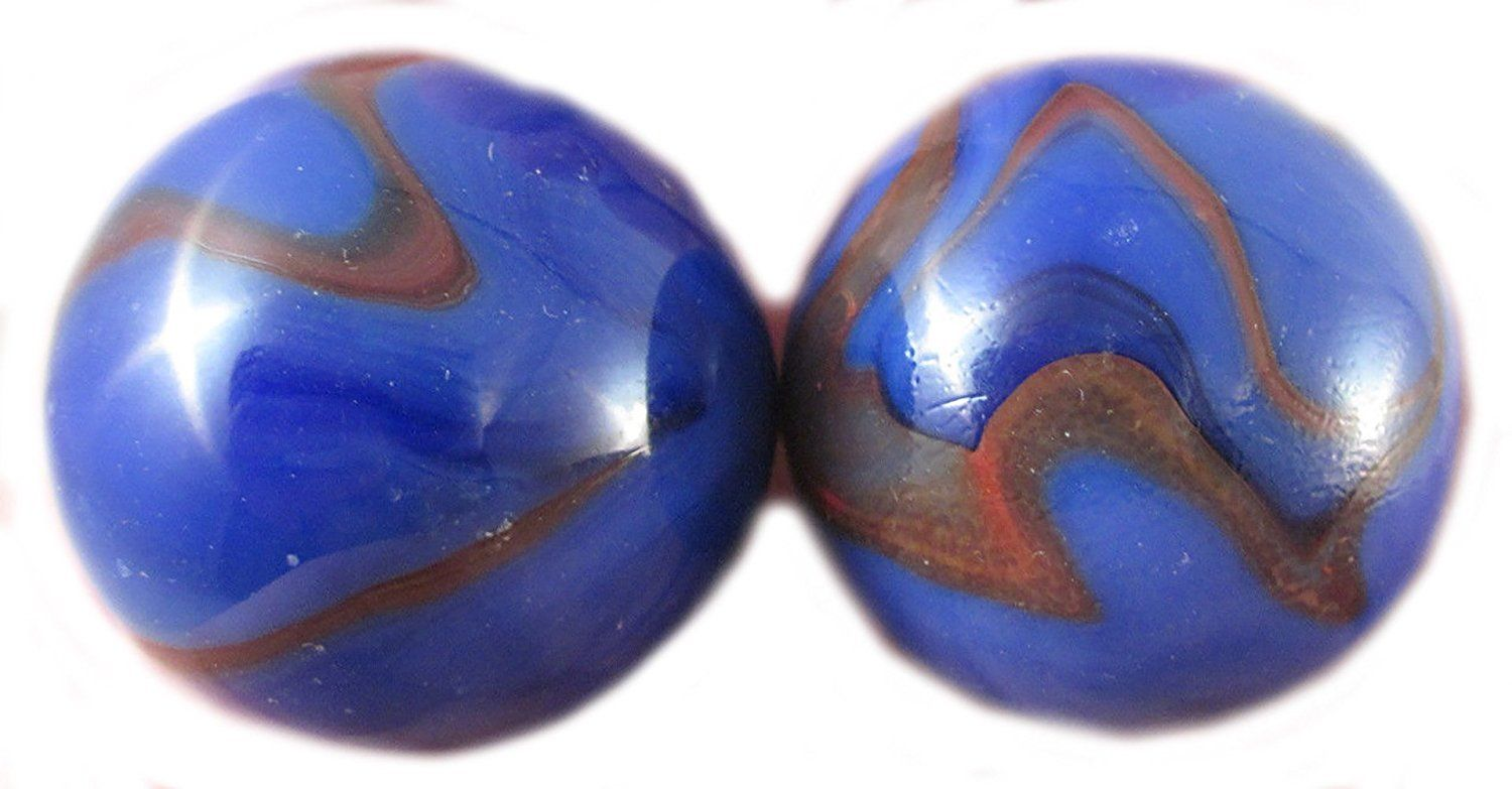 Amazon Com Unique Custom 1 3 8 Inch Set Of 2 Huge Round Opaque Marbles Made Of Glass For Filling Vases Games Gaming Decor Filled Vases Creative Design