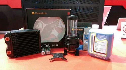 Thermaltake Launches The New Pacific Rl140 Water Cooling Kit