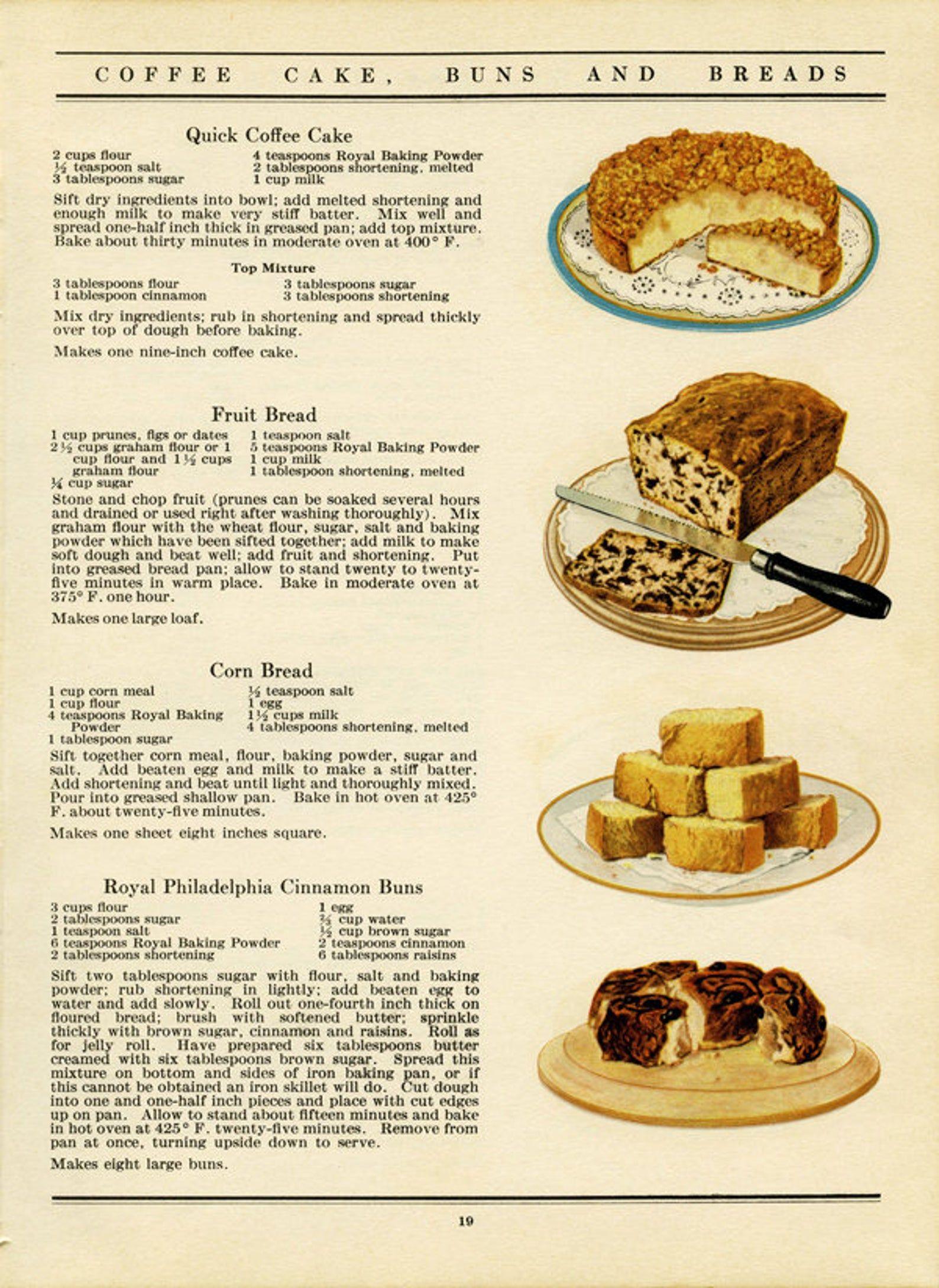 Printable Vintage Cookbook Pages. Cookbook Pages B