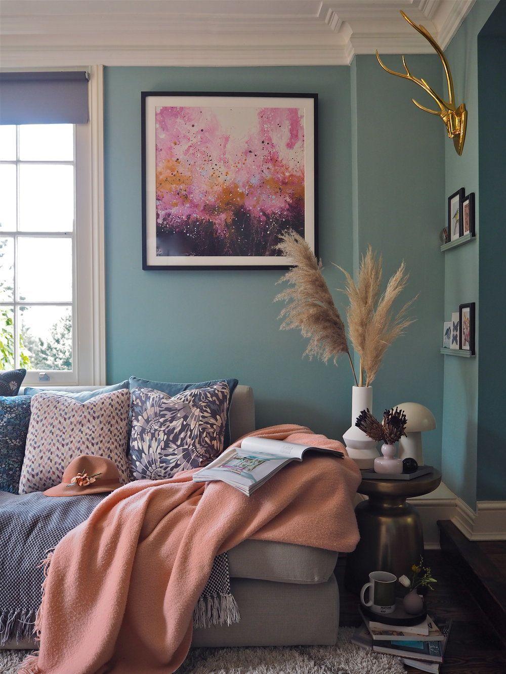 Photo of Hvordan bringe farge inn i hjemmet ditt og få innvendig fargetillit ved å bruke kunst …