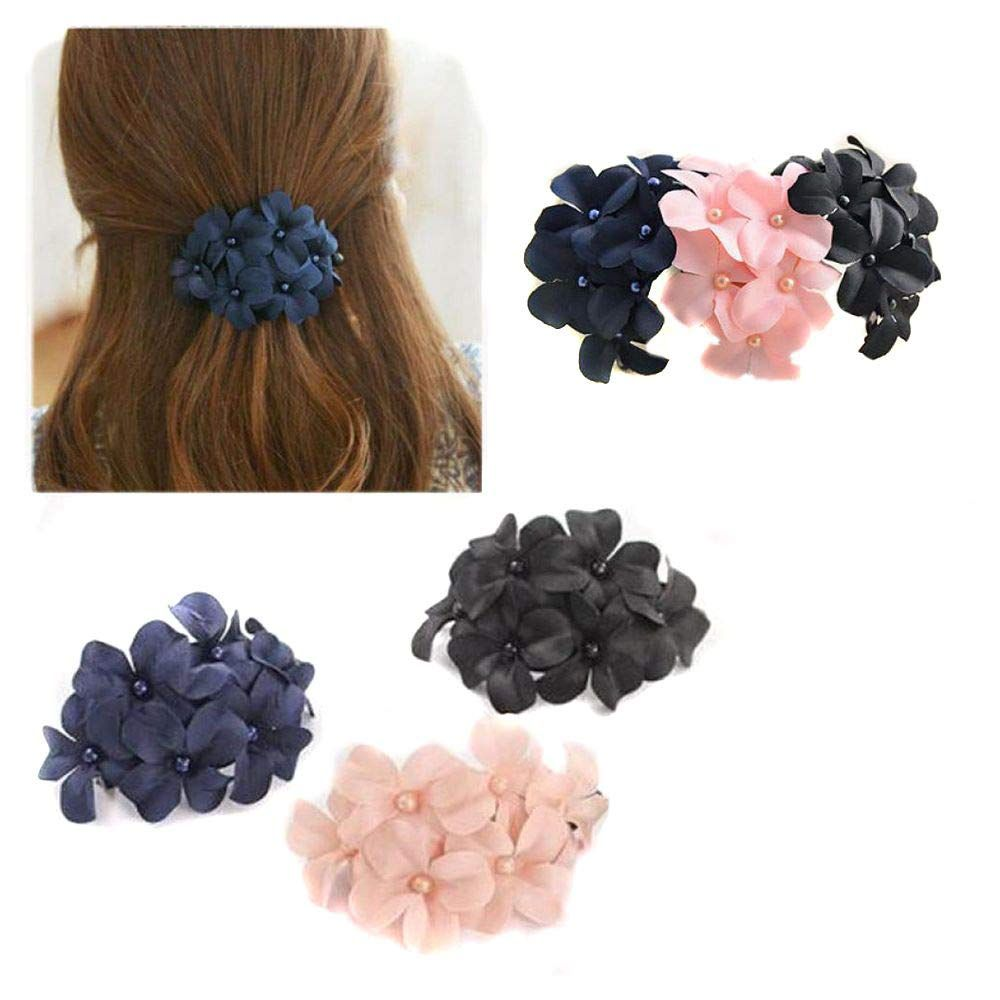 2Pcs Women Girls Butterfly Hairpin Hair Clips Pins Barrettes Colorful Decor Gift