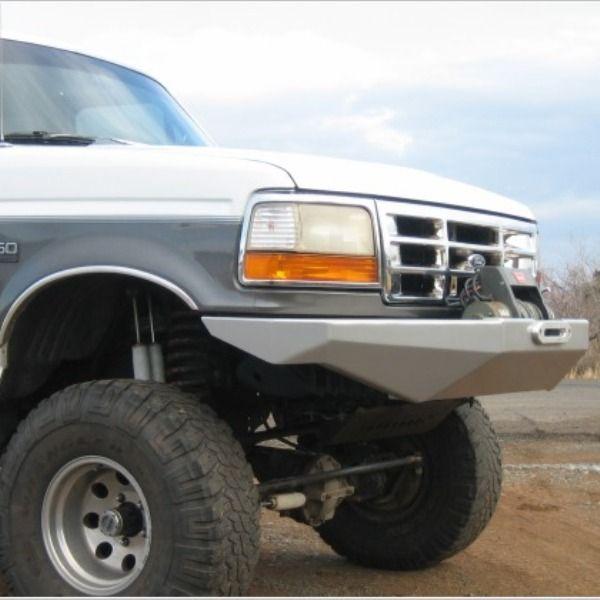 373a7dcab68 92-97 Rock Solid Front Bumper - WILD HORSES Ford Bronco Parts   Accessories