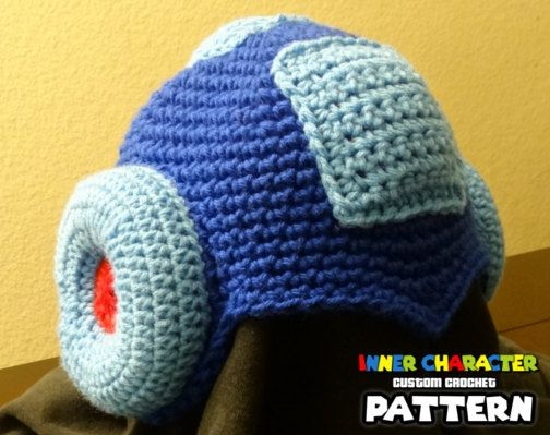 Pattern For Megaman Inspired Beanie By Innercharacter 4 My