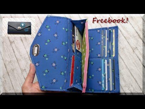 226) Portemonnaie LISANNE nähen / kostenloses e-Book von AKkreativ ...