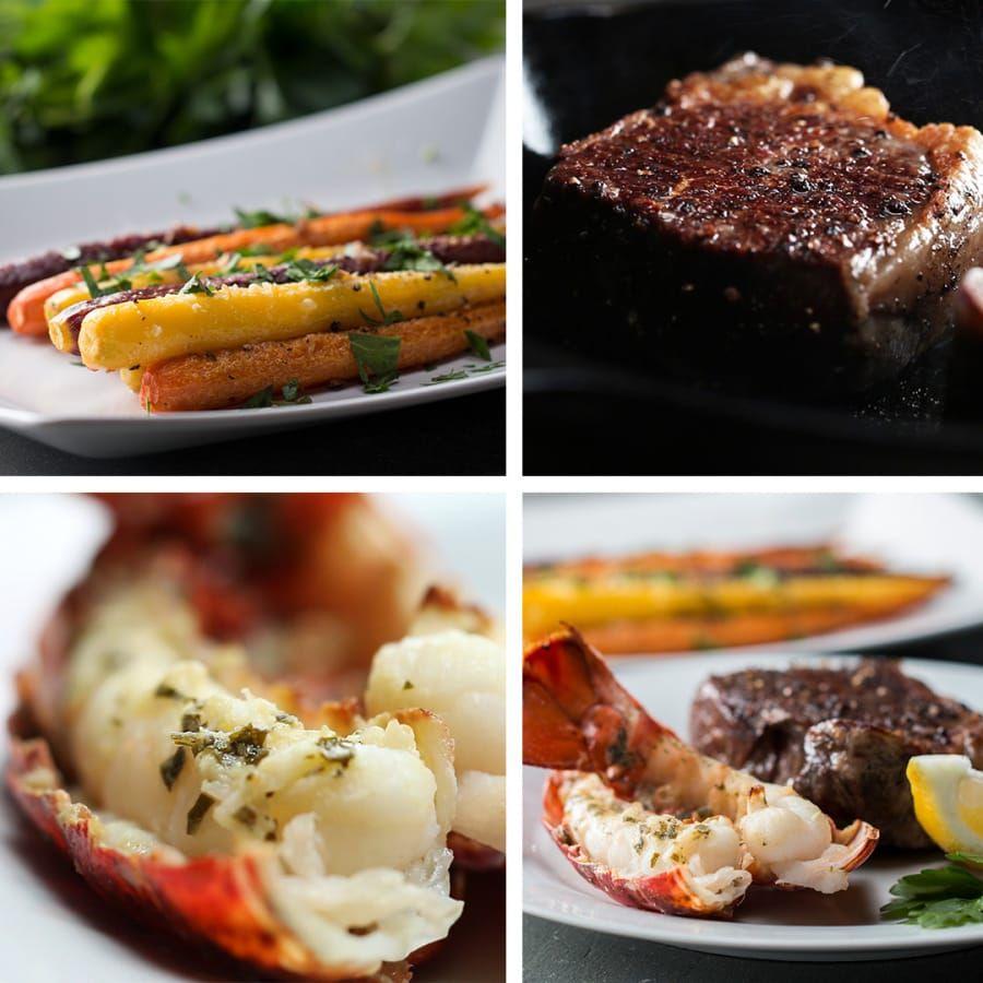 Steak and Lobster Dinner for Two | Steak and lobster dinner