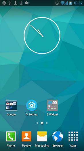 S Launcher (Galaxy S5 Launcher screenshot Galaxy s6