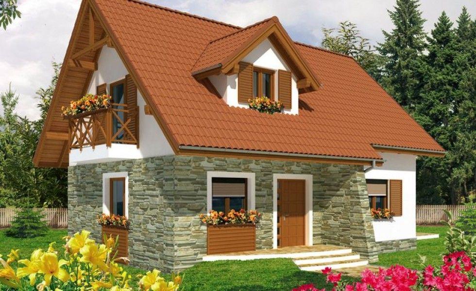 proiecte de case cu mansarda sub 100 de metri patrati case