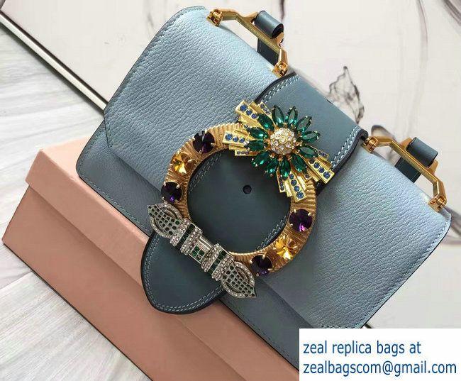 Miu Miu Shoulder Bag Blue
