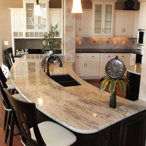 Sensa Granite Design Ideas, Pictures, Remodel, and Decor...silver ...